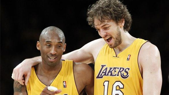 NBA. Pau Gasol se despide de su 'hermano mayor' Kobe Bryant