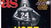 Las portadas de este lunes, 27 de enero: Adiós a Kobe Bryant