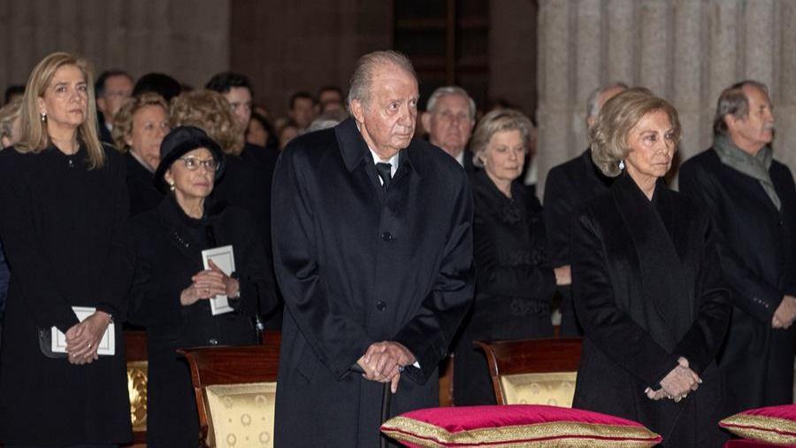 Más de 200 personas acuden al funeral de Doña Pilar: Casa Real, familia e instituciones