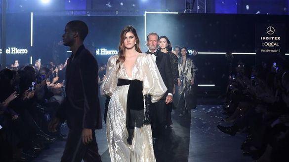 Madrid Fashion Week. Pedro del Hierro, acordes glam para brillar en la alfombra roja
