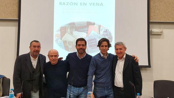 José Luis Garci, Gabriel Albiac, Dieter Brandau, Jorge Casesmeiro y Agapito Maestre.