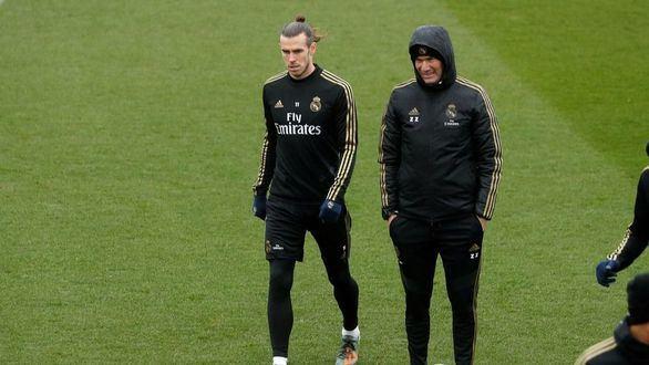 Zidane se harta de Gareth Bale: le deja fuera del derbi ante el Atlético