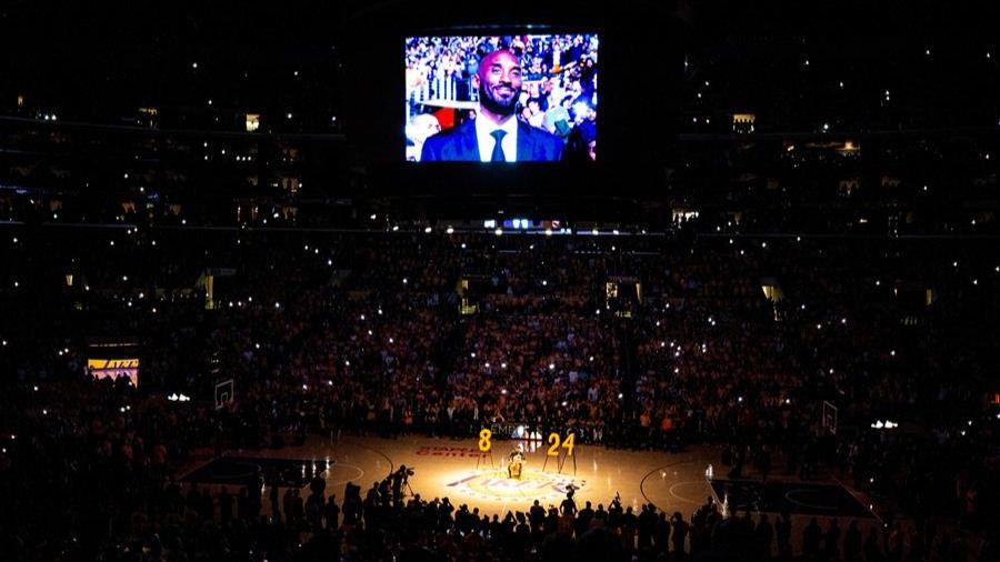 NBA. Lillard brilla en la despedida de los Lakers a Kobe Bryant
