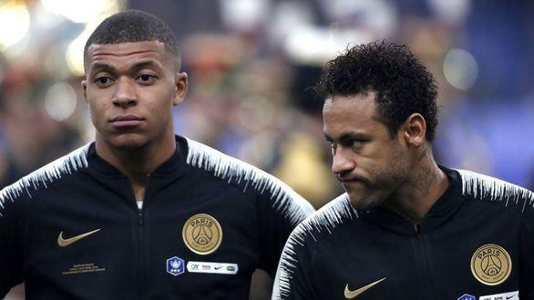 ¿Están Neymar y Mbappè forzando su salida del PSG?