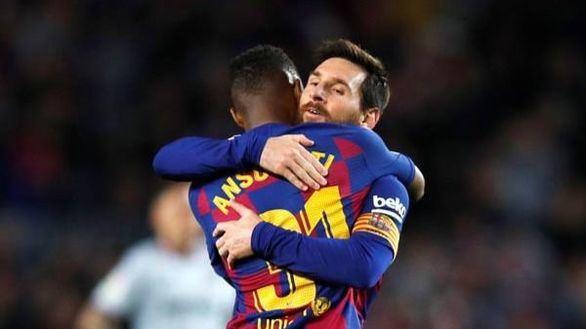 Messi y Ansu Fati ganan pero no asientan al Barcelona | 2-1
