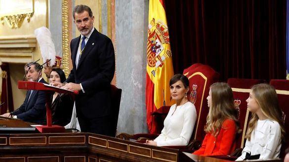 Discurso íntegro del Rey en el acto de apertura de la XIV legislatura