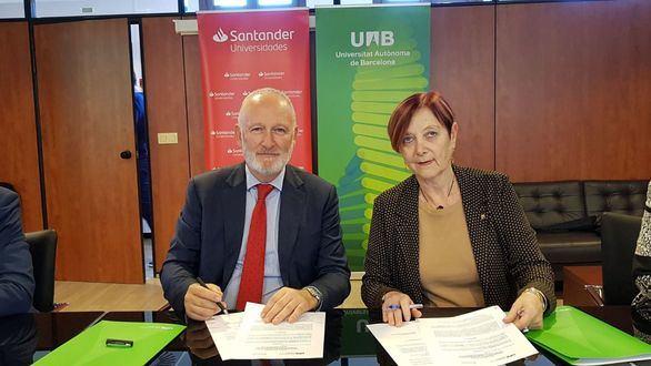 La UAB y Santander refuerzan su colaboración