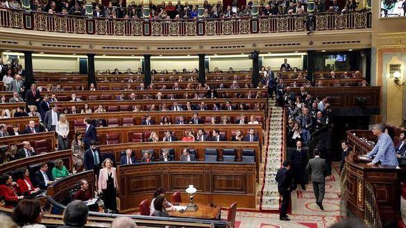 El Congreso aprueba subir el sueldo de los diputados un 2 %