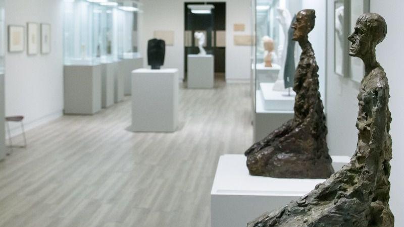 El diálogo entre la obra de Rodin y Giacometti, por primera vez en España
