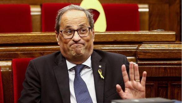 Los letrados del Parlament primero dicen que Torra no puede ser president y ahora que sí