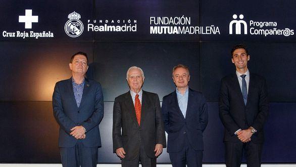Mutua Madrileña, Cruz Roja y Real Madrid apoyarán a hijos de víctimas de violencia de género