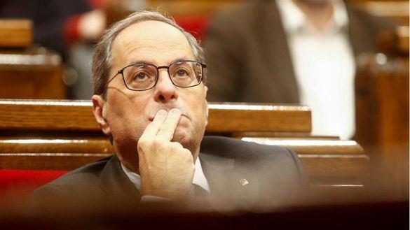 El PP presenta una querella contra Torra por usurpación de funciones