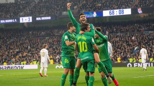 Copa del Rey. Isak ajusticia la relajación del Real Madrid   3-4