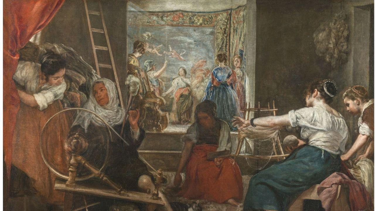 Un montaje pionero permitirá contemplar Las Hilanderas como la concibió Velázquez