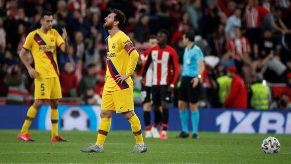 Copa del Rey. El Barcelona no escapa de la trampa del Athletic   1-0