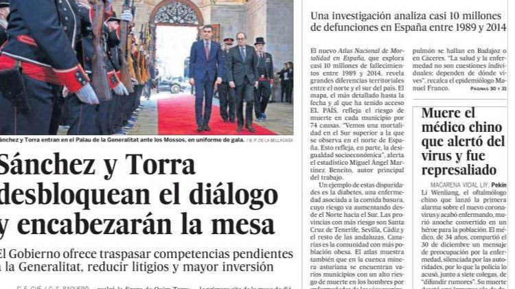 La humillación de Sánchez ante Torra