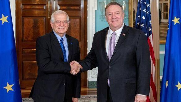 Borrell acude por primera vez a Washington como jefe de la diplomacia europea