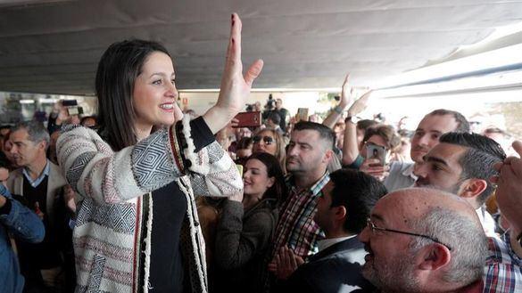 Arrimadas insiste en una coalición electoral para País Vasco, Galicia y Cataluña