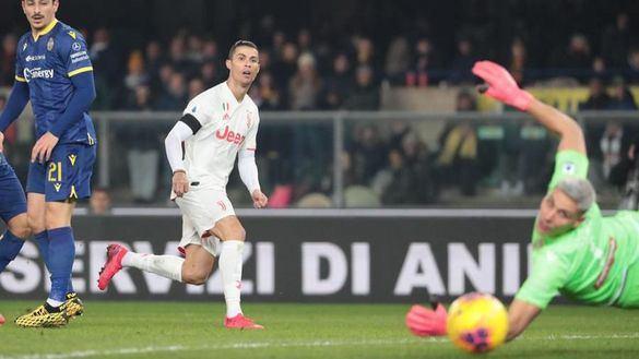 Ligas europeas. Cristiano Ronaldo sigue batiendo récords y el Inter lidera