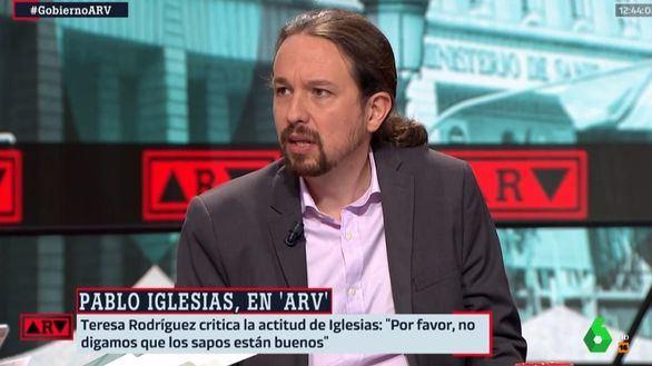 Iglesias estará en la mesa de negociación con la Generalidad independentista