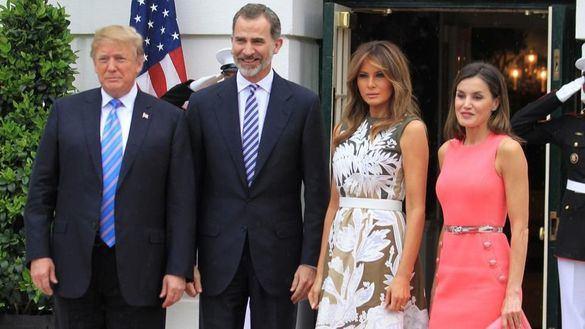 Los Reyes visitarán a Trump en la Casa Blanca el 21 de abril