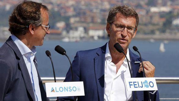 El PP ratifica a Feijóo y Alonso como candidatos para Galicia y País Vasco