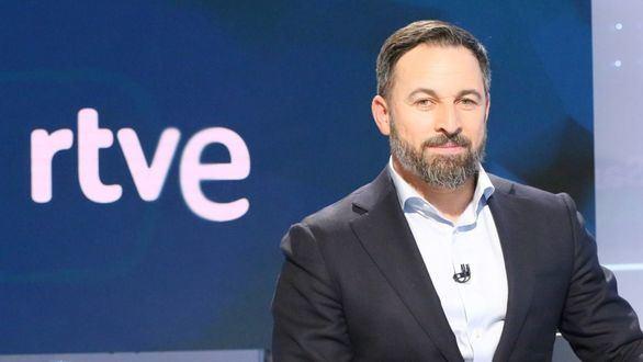 Santiago Abascal en su primera entrevista en RTVE.