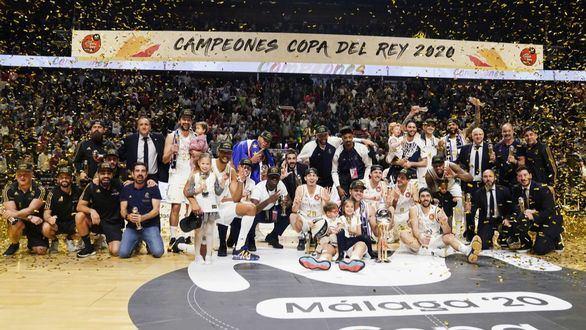 El Real Madrid recupera el cetro copero con una exhibición ante el Unicaja |68-95