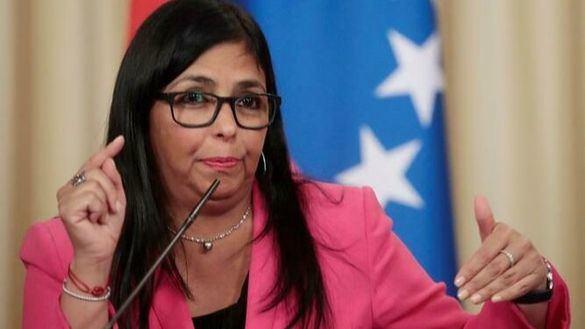 Delcy Rodríguez carga contra la derecha española: