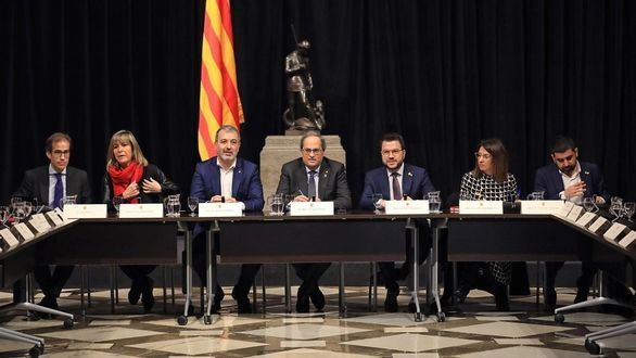 Torra reúne al separatismo para ratificar su apoyo al mediador