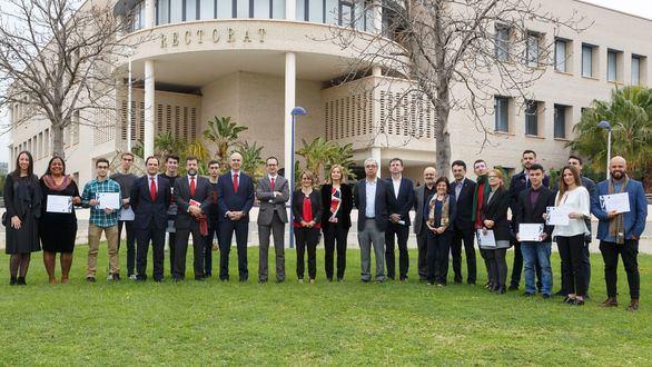 Banco Santander entrega en la UJI premios de investigación y emprendimiento social y ayudas de grado en STEM