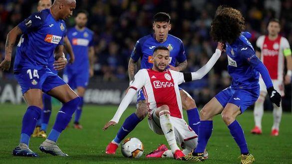 Europa League. El Getafe agiganta su sueño ante el Ajax   2-0