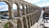 Hallan un desarenador que decantaba agua del Acueducto de Segovia en el siglo XV