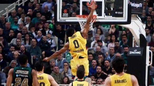 Euroliga. El Barcelona saca la categoría para vencer al Panathinaikos   81-92
