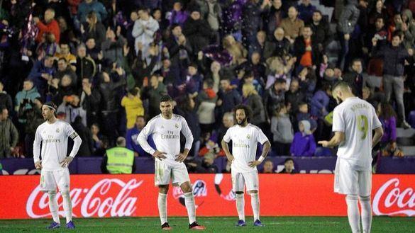 El Real Madrid saca brillo a su fútbol y pierde con el Levante   1-0