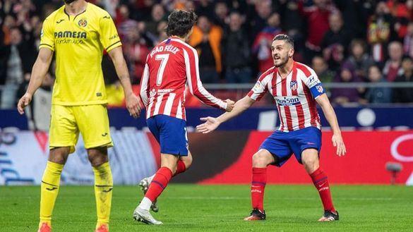 El Atlético aprueba el examen del Villarreal | 3-1