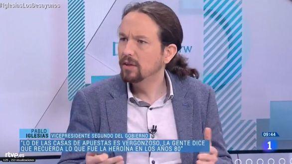 Iglesias alardea de 'cambio de régimen':