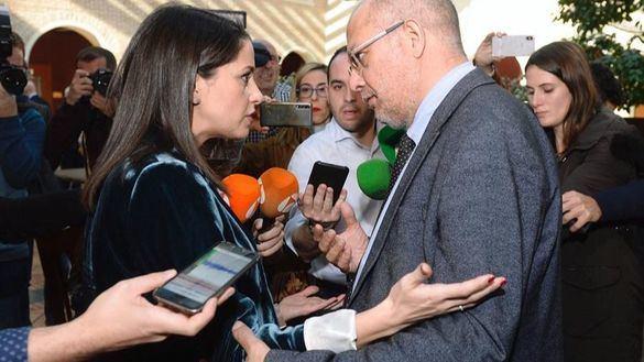 Tensión entre Arrimadas e Igea por el control de Ciudadanos