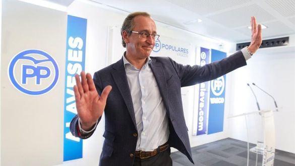 Alfonso Alonso deja la política pidiendo al PP vasco que