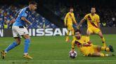 El Barcelona esquiva sus fantasmas en Nápoles | 1-1