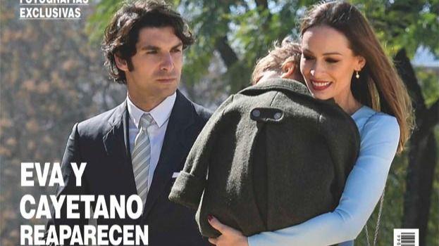 Eva González y Cayetano Rivera, juntos en público tras peligrar su relación