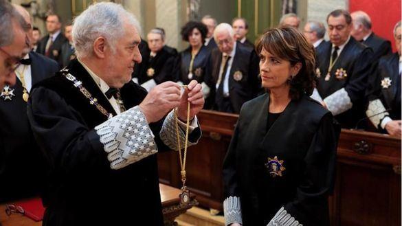 Dolores Delgado ya es fiscal general del Estado tras prometer el cargo ante el Rey