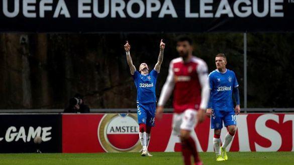 Liga Europa. El Rangers, primer clasificado para octavos |0-1