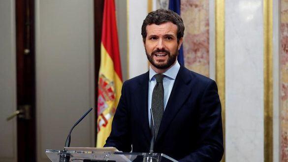 Casado carga con dureza contra Sánchez por la mesa de diálogo y le insta a comparecer