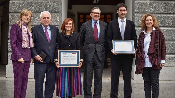 La Universidad de Deusto y el Santander entregan los XV Premios de Investigación UD-Santander