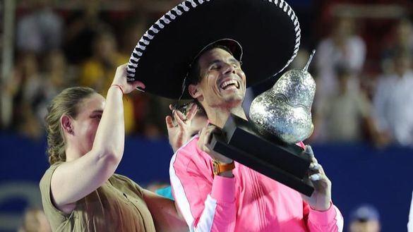 Rafa Nadal gana en Acapulco el título 85 de su carrera