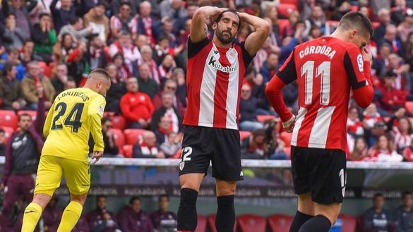Raúl García, de penalti, anima al Athletic   1-0