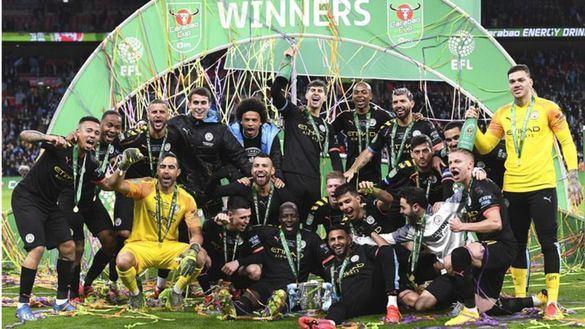 El City conquista su tercera Copa de la Liga consecutiva |1-2