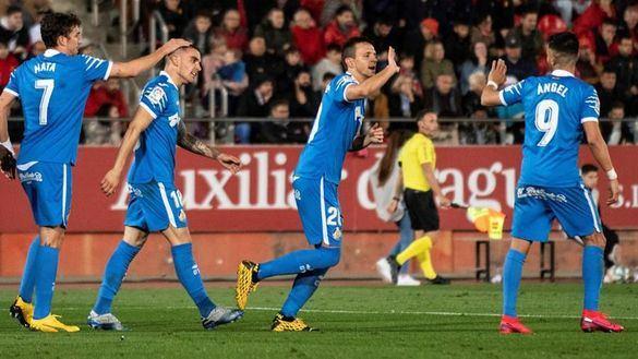 El Getafe no quiere alejarse de la Champions | 0-1