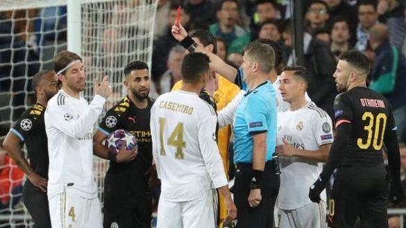 Ramos pide al Madrid recurrir la roja que vio ante el City